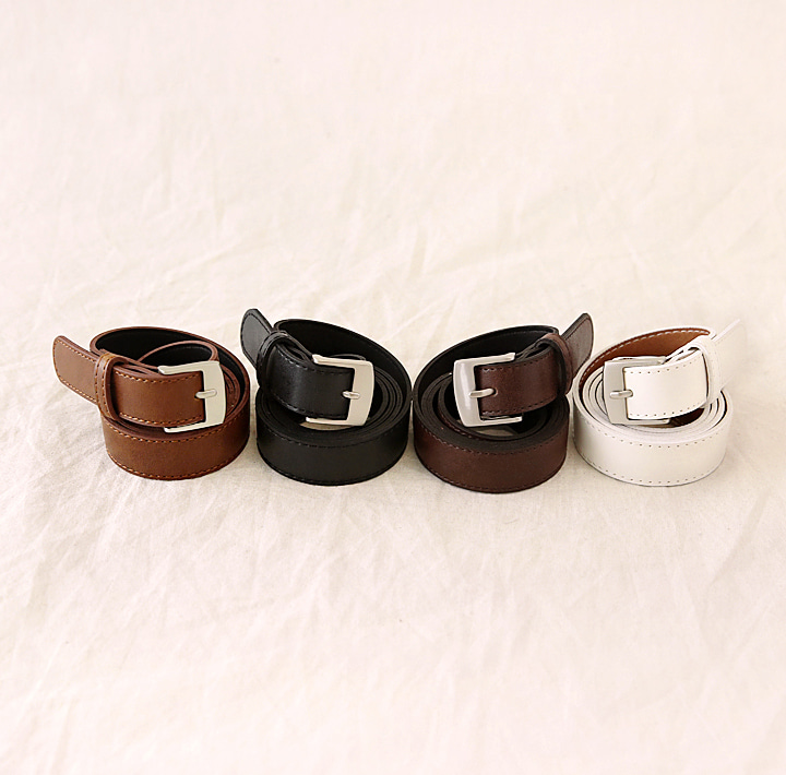 [ACC] DAILY SQUARE FRAME BELT