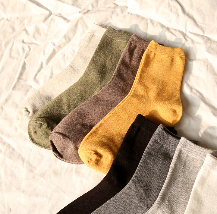 [ACC] COTTON 100% DAILY SOCKS