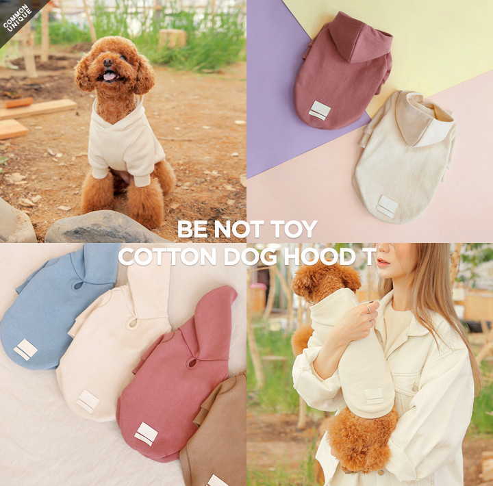 [BE NOT TOY] COTTON DOG HOOD T