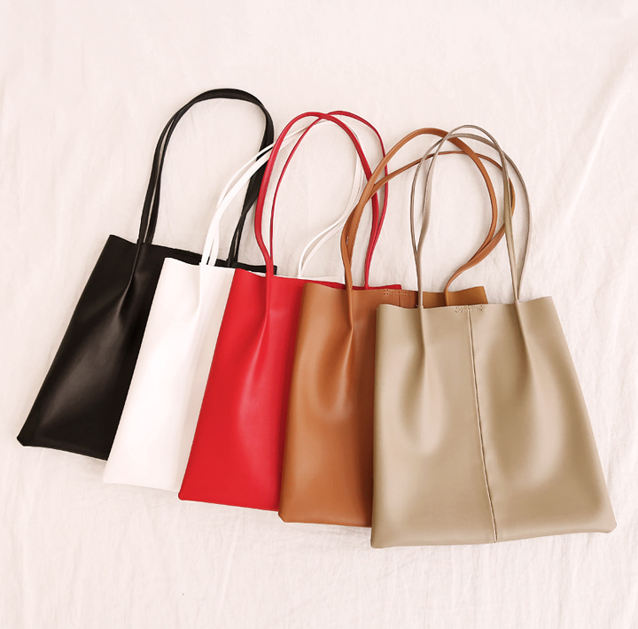 [BAG] 5 COLOR SLIM MATT LEATHER BAG