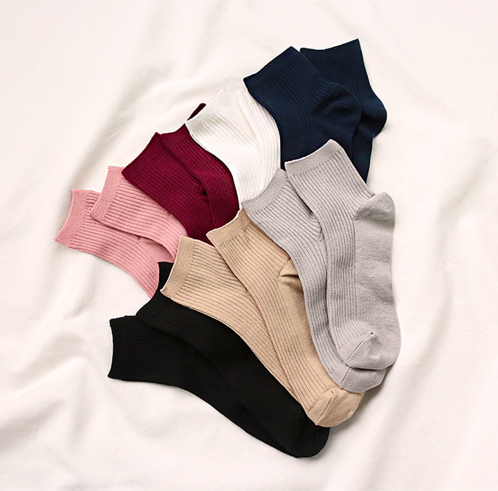 [ACC] 7 COLOR ANCLE GOLGI SOCKS