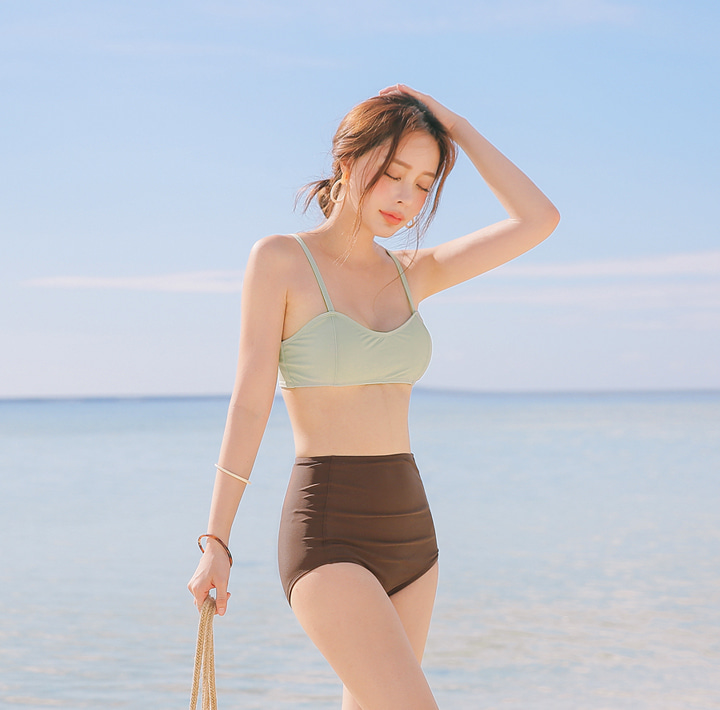 [SWIM WEAR] LIVELET COLOR KNOT BIKINI