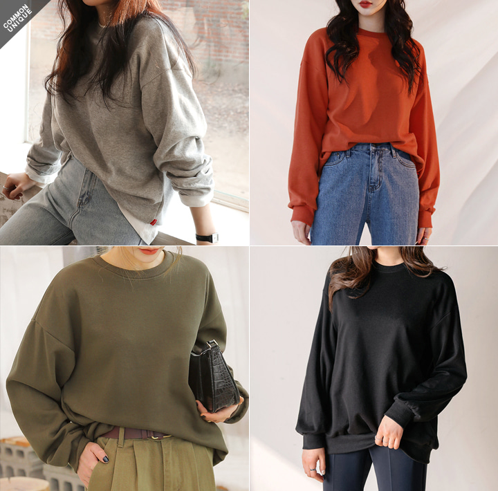 [TOP] MELLOW BASIC COTTON MTM