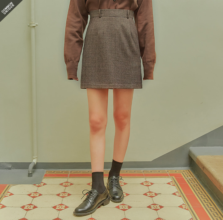 [SKIRT] SLOAT BOKASHI SET-UP MINI SKIRT