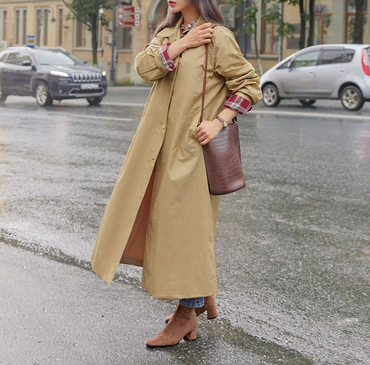 [OUTER] BERLIN MAC TRENCH COAT