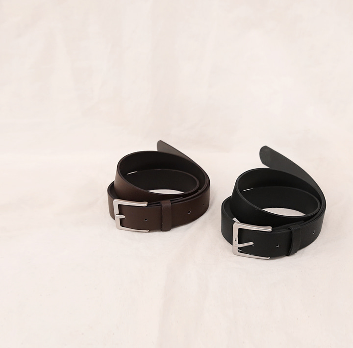 [ACC] KODEN SQUARE FRAME LEATHER BELT