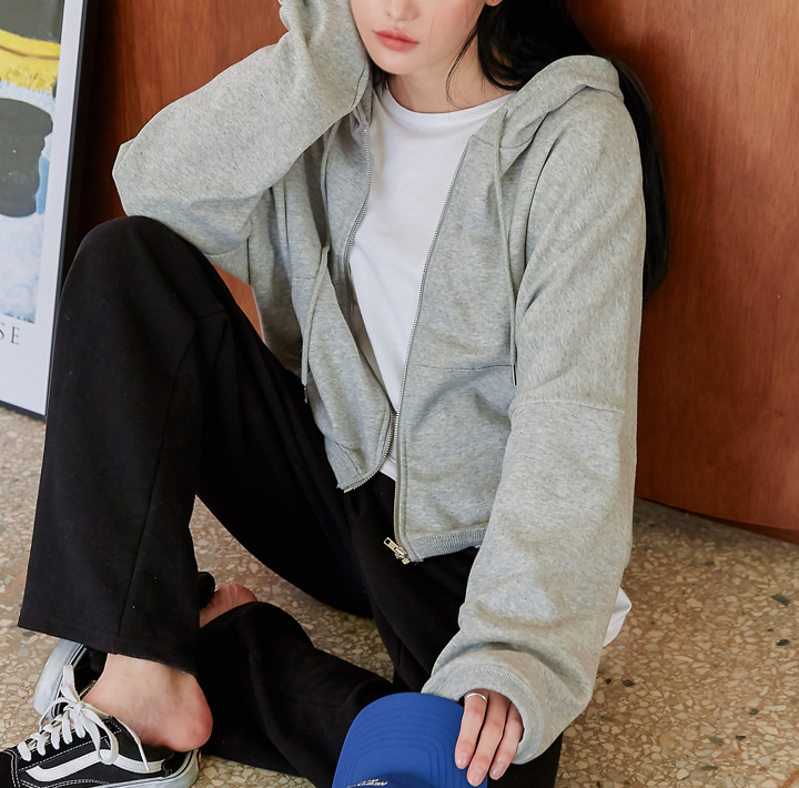 [OUTER] CORET LOOSE FIT HOOD ZIPUP
