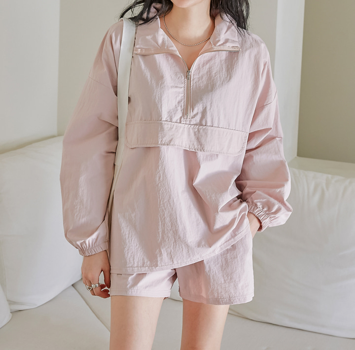 [SET] TIFF ANORAK 2 PIECE SET