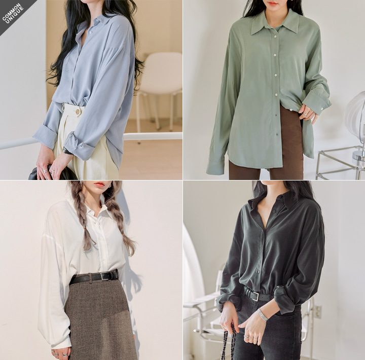 [TOP] SOFT LOOSE BAMBOO BLOUSE