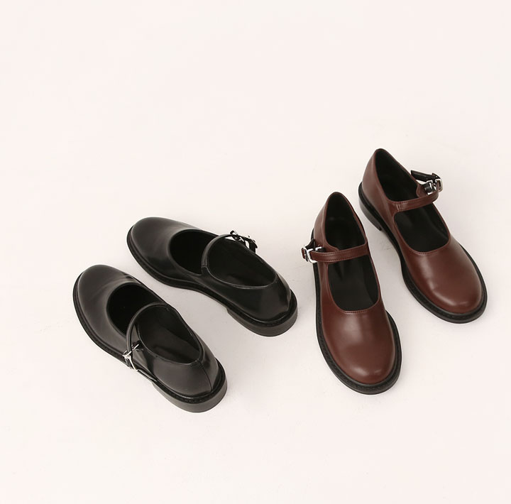 [SHOES] RUVE MARY JANE FLAT SHOES