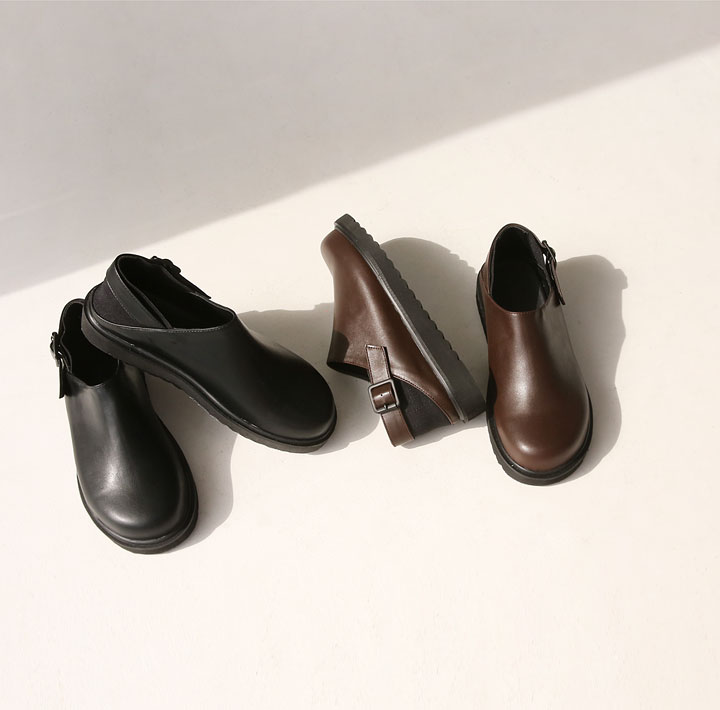 [SHOES] MOSTO 2 WAY ROUND LOAFER