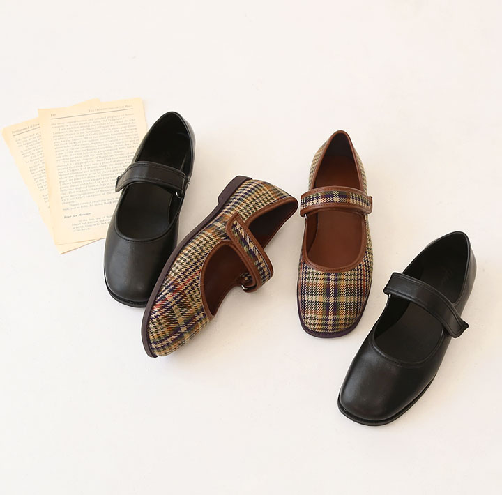 [SHOES] MARY JANE FLAT SHOES - 2 TYPE