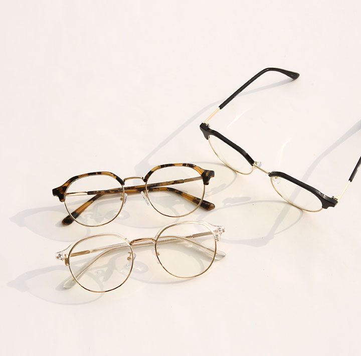 [ACC] OREGON GOLD FRAME GLASSES