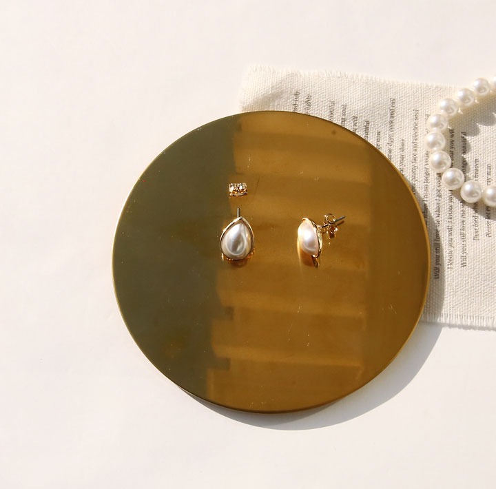 [JEWELRY] PENNA PEARL WATER DROP EARRING