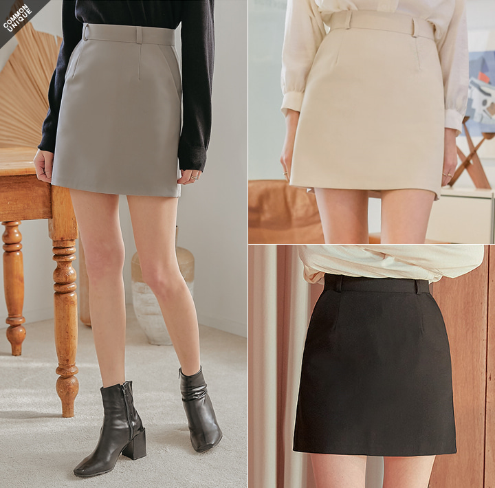 [SKIRT] PLENTIFUL SET-UP MINI SKIRT