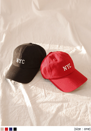 [ACC] NEWYORK CITY LETTERING BALL CAP