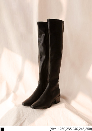 [SHOES] STYLISH SPAN LONG BOOTS