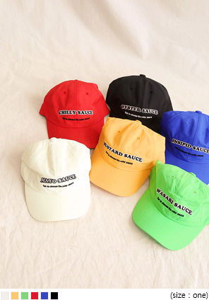 [ACC] 6 COLOR FUN SAUCE BALL CAP