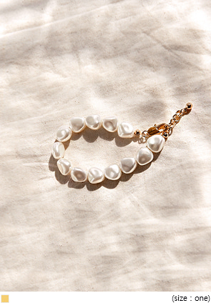 [JEWELRY] CUSTOM PEARL POINT BRACELET