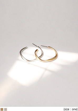 [JEWELRY] CRAFT CIRCLE EARRING