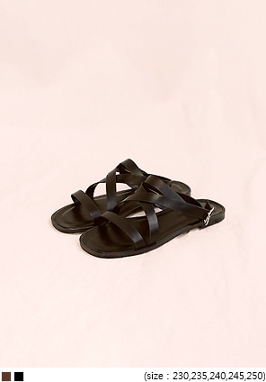 [SHOES] MANY X STRAP SANDAL