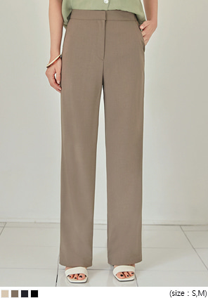 [BOTTOM] GROMIT SLIM STRAIGHT SLACKS