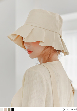 [ACC] RANNING FRILL POINT BUCKET HAT