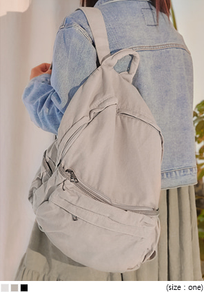 [BAG] COSTA POCKET COTTON BACKPACK