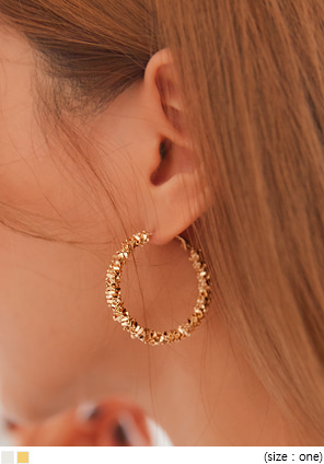[JEWELRY] MOZART BOLD RING EARRING