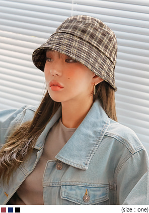 [ACC] DIXON CHECK BUCKET HAT