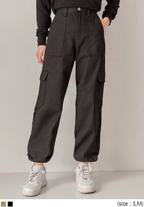 [BOTTOM] SANTA CARGO STRING JOGGER PANTS