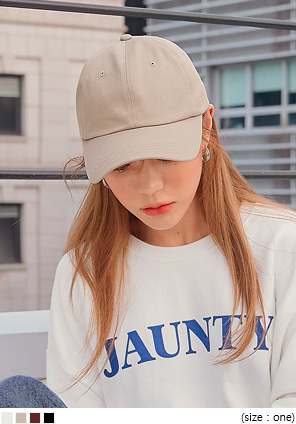 [ACC] CHILD COLOR BASIC BALL CAP