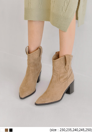 [SHOES] MABLE WESTERN BOOTS - 2 TYPE