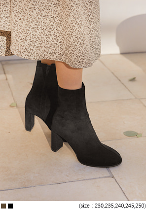 [SHOES] BERTO SUEDE ANKLE BOOTS