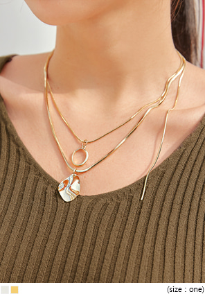 [JEWELRY] BASTOW LAYERED NECKLACE