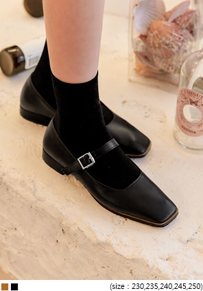 [SHOES] ENNA BUCKLE STRAPPED LOAFER