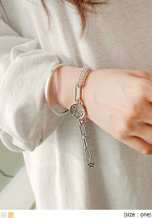 [JEWELRY] UNTIL UNBAL CHAIN BRACELET