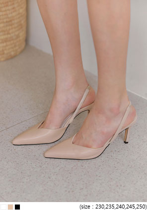[SHOES] MOND STILETTO SLINGBACK HEEL
