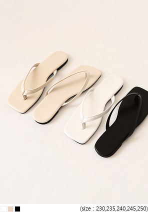 [SHOES] MODA BASIC FLIP FLOP SLIPPER