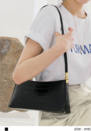 [BAG] PERO CROCODILE LEATHER BAG