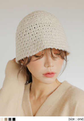 [ACC] PLUTO KNIT BUCKET HAT