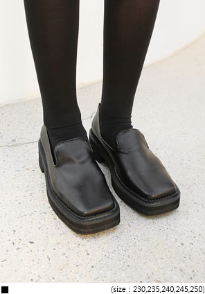 [SHOES] PRENDO SQUARE PLATFORM LOAFER