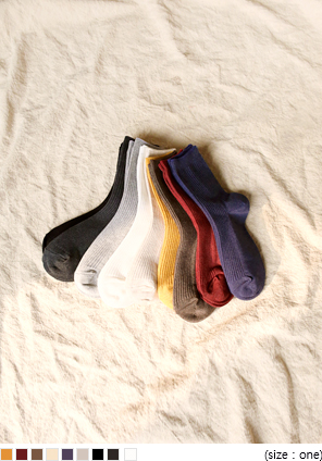 [ACC] 9 COLOR DAILY GOLGI SOCKS